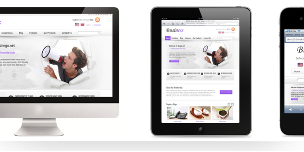 Mobile Ready Responsive Websites